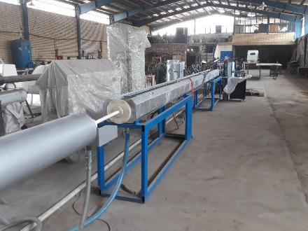 خط تولید لوله های پلی اتیلن